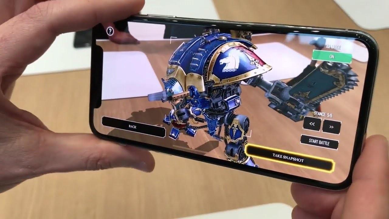 Bằng sáng chế trên Iphone mang trải nghiệm 3D