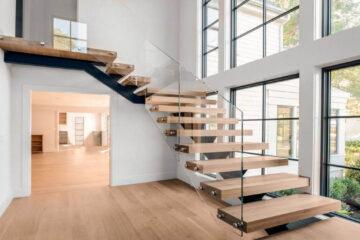Phong thủy cầu thang thích hợp để rước tài lộc vào nhà