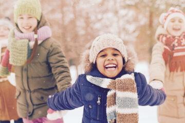 chăm sóc trẻ mùa lạnh