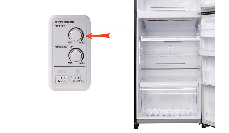 Cài đặt nhiệt độ cho tủ lạnh