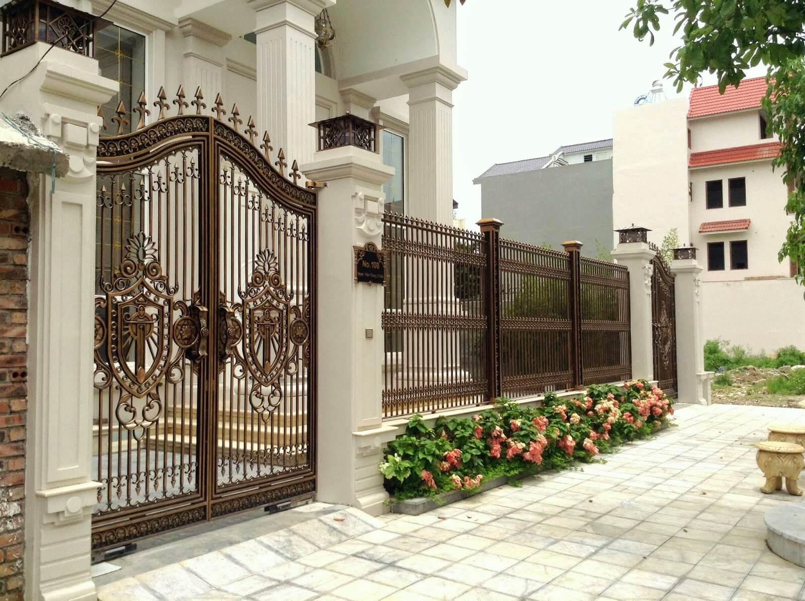 Ý nghĩa của bố trí cổng nhà theo phong thủy