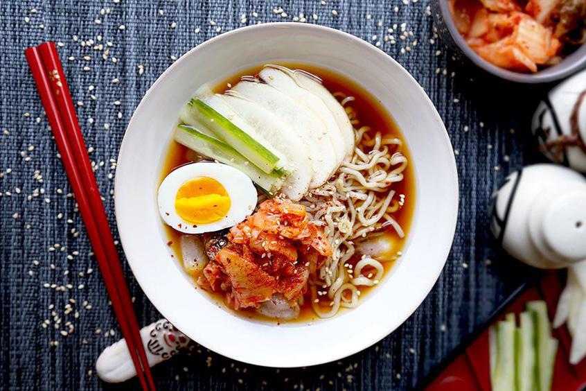 Mỳ lạnh Naengmyeon