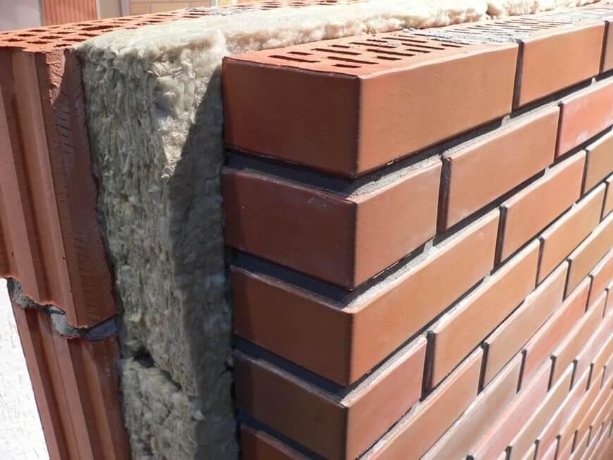 Chống nóng cho tường nhà bằng gạch hai lớp