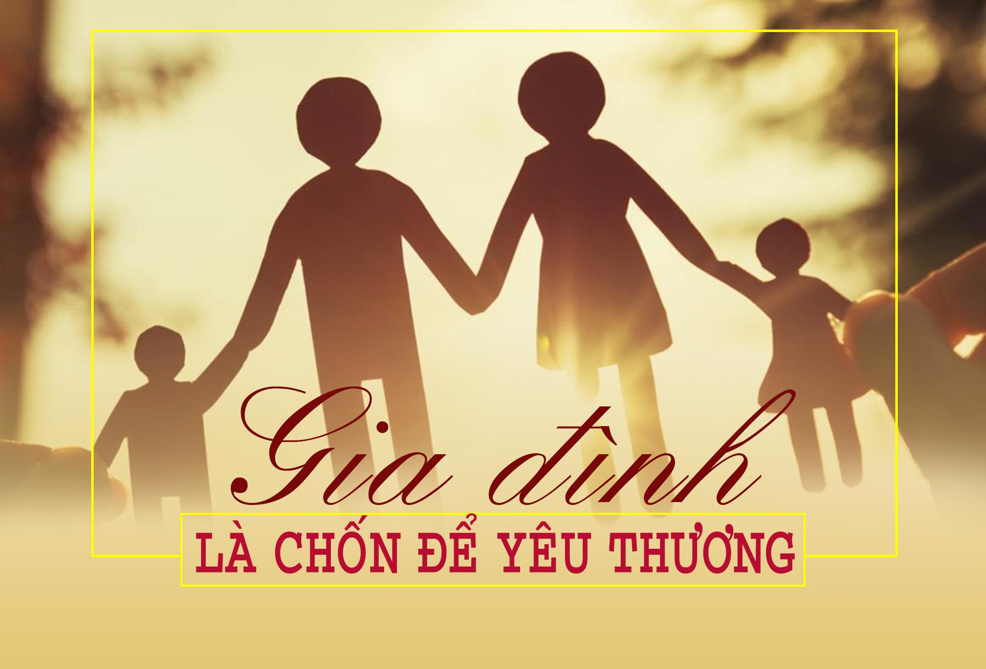 Quan tâm và chia sẻ tạo lên một gia đình hạnh phúc