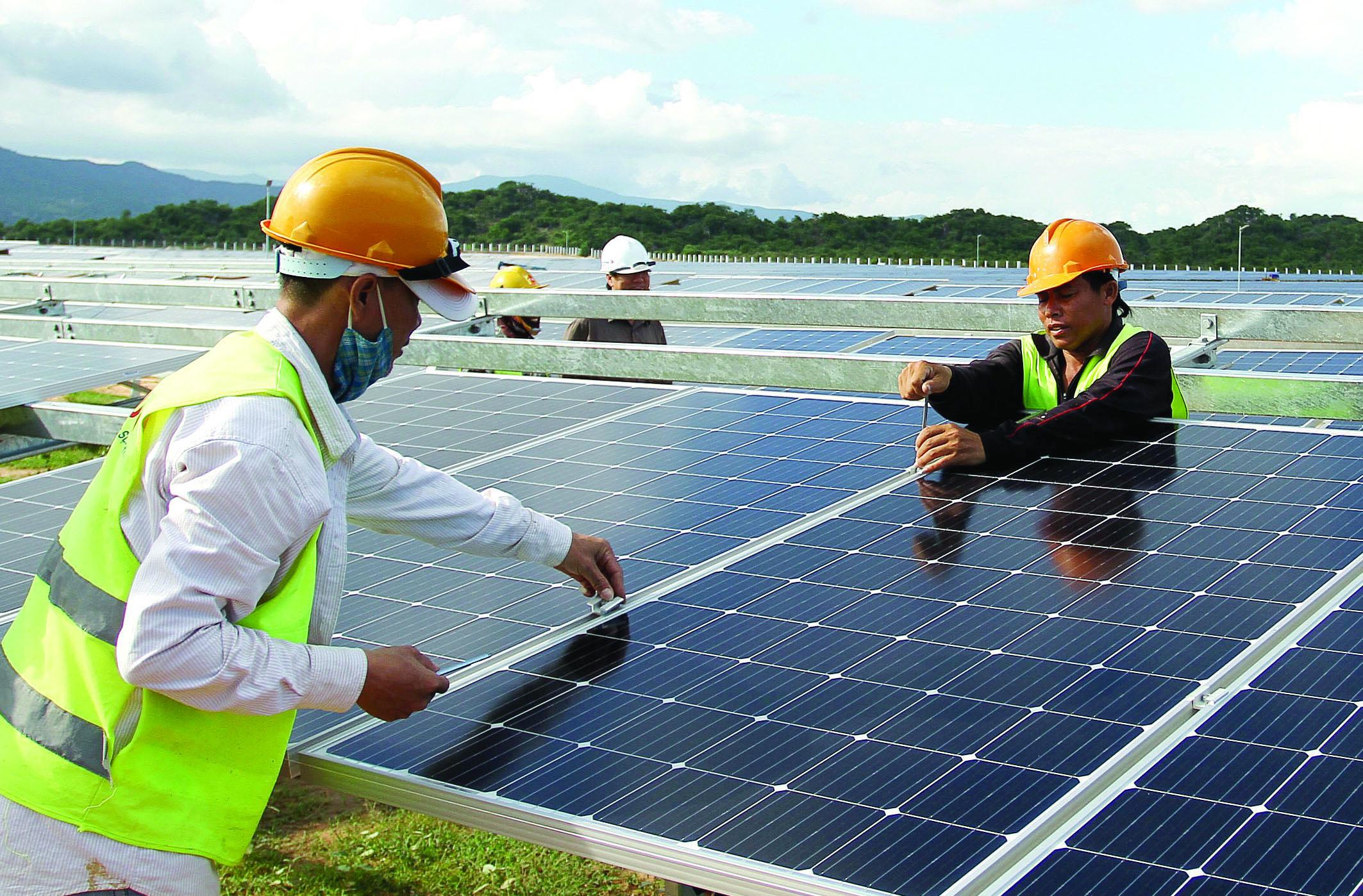 """""""Hành trình"""" bền vững nhằm đạt được mục tiêu trung hòa khí thải vào năm 2070."""