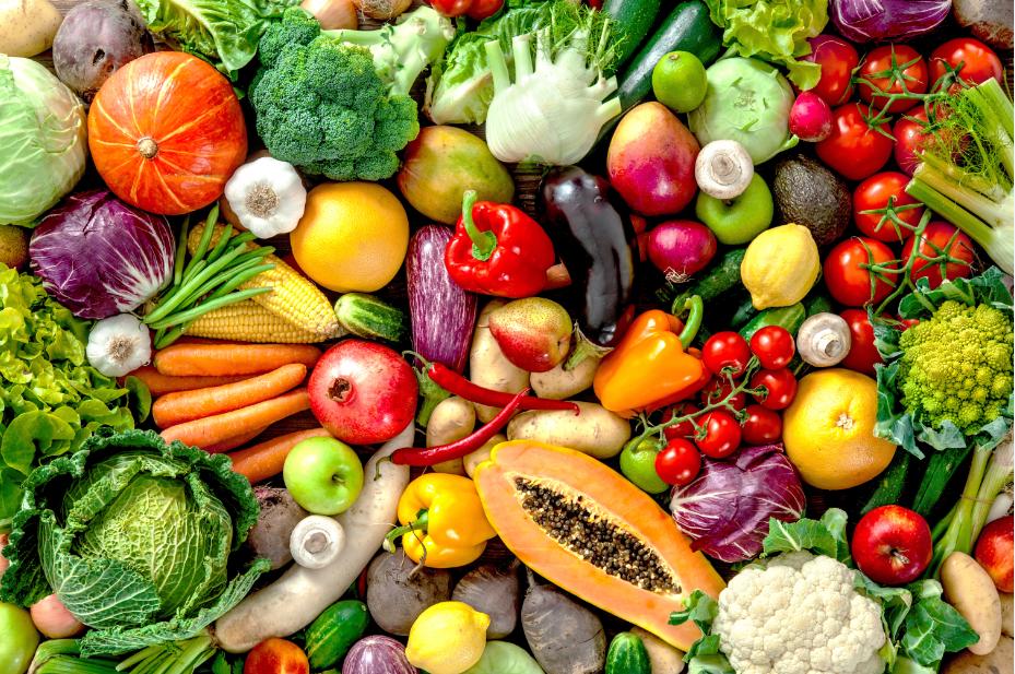 Mua rau củ quả tại vườn