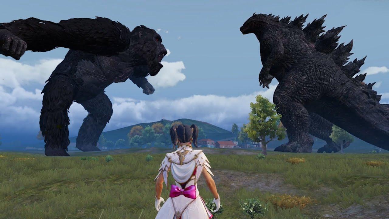 PUBG Mobile x Godzilla vs Kong