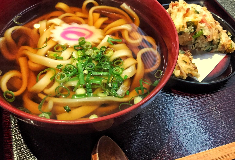 Mì udon của Nhật Bản