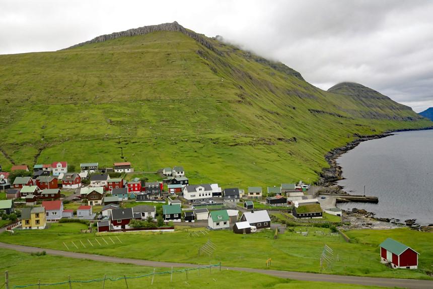 Ngôi làng Gásadalur