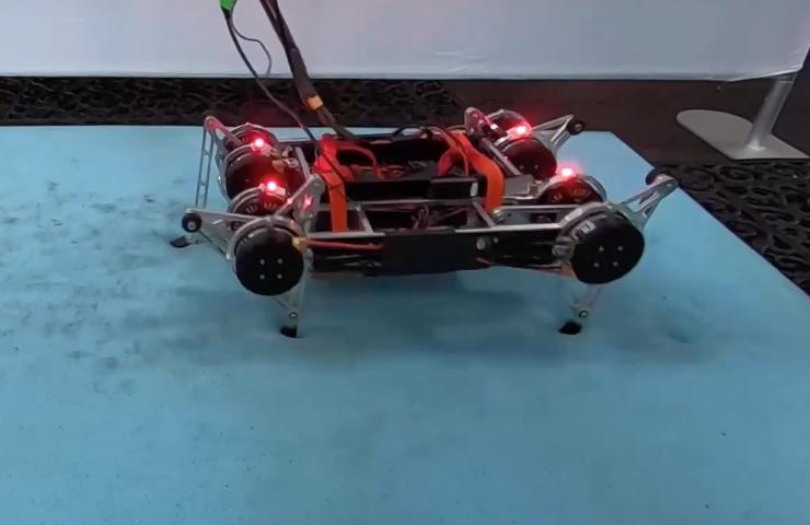 Robot của Google có thể đi bộ trên nhiều bề mặt
