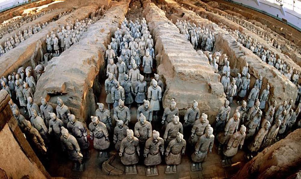Tham quan Lăng mộ Tần Thủy Hoàng