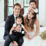 Gia đình hạnh phúc của ca sĩ Đăng Khôi và Thủy Anh