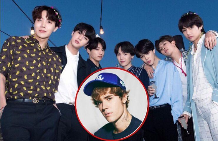 Justin Bieber hợp tác cùng BTS trong album mới