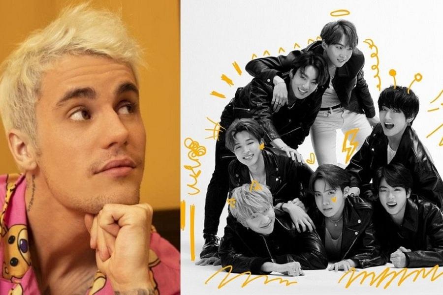 Justin Bieber và BTS sẽ có màn hợp tác thu âm ca khúc mới