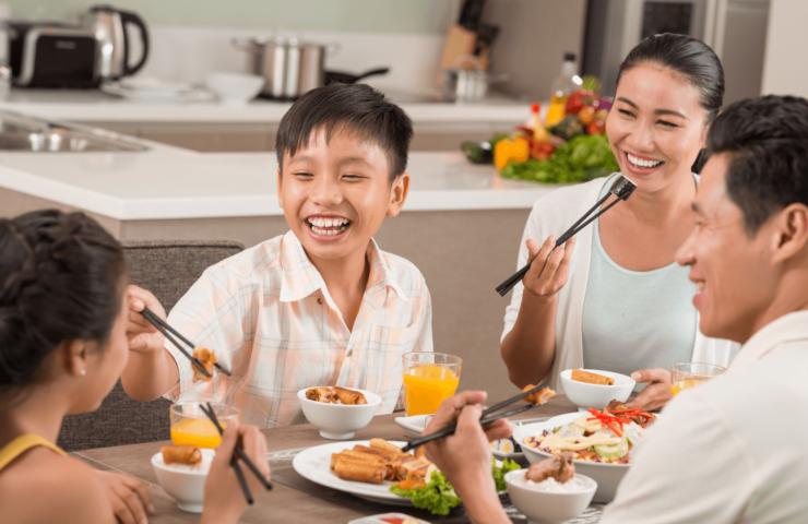 Cải thiện dinh dưỡng qua những bữa cơm gia đình