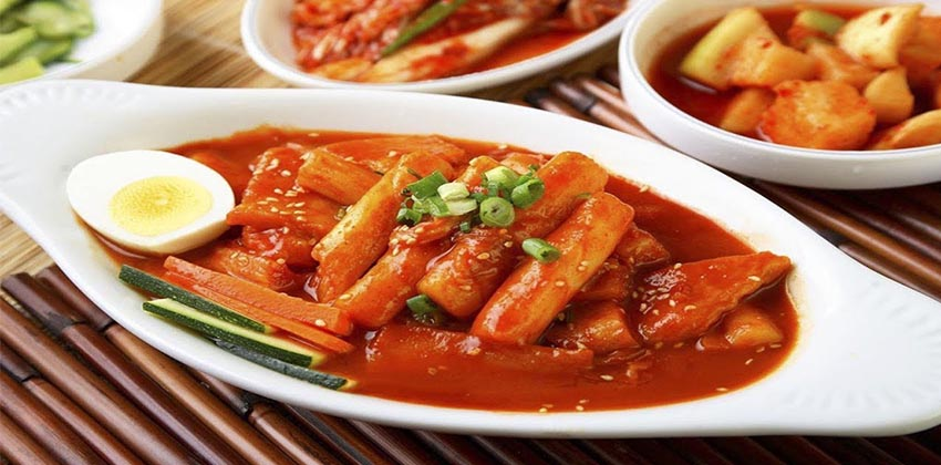 Tteokbokki - bánh gạo ca