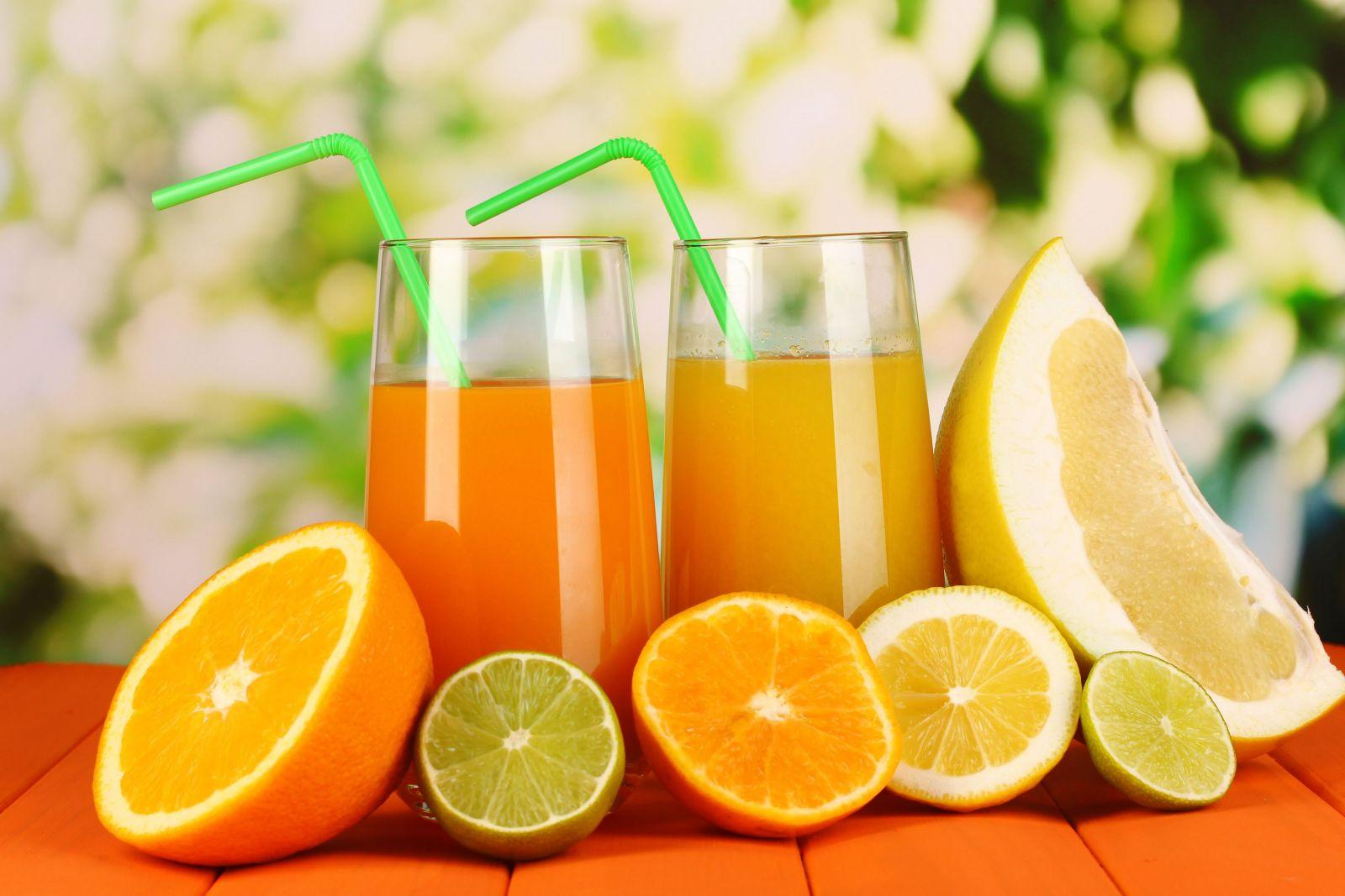 nước cam giúp tăng sức đề kháng