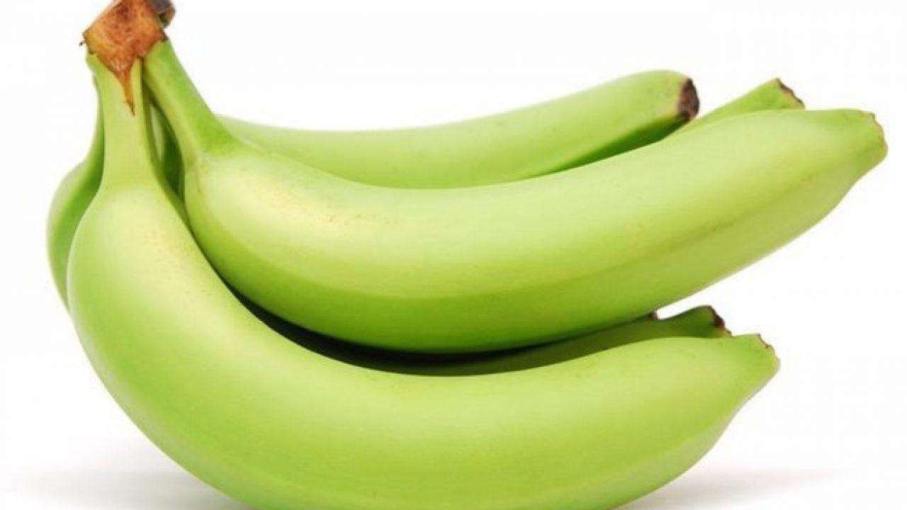 Chuối xanh là loại trái cây giàu tinh bột