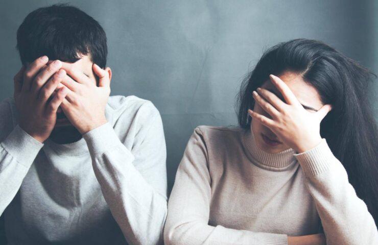 Các cặp vợ chồng dễ ly hôn