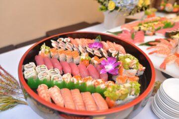 Sushi là món ăn chứa nhiều dinh dưỡng
