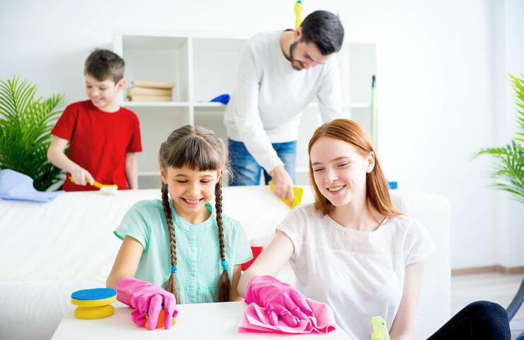 Phân chia công việc nhà hợp lý giúp gìn giữ hạnh phúc gia đình
