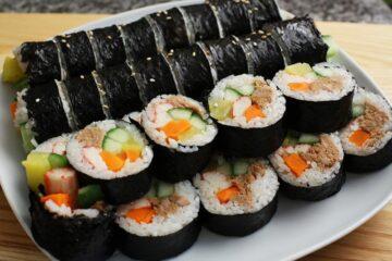 Tuyển tập những món ăn ngon chế biến từ rong biển