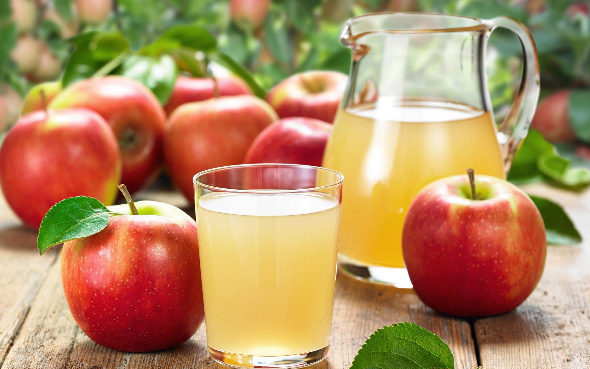 Nước ép sử dụng táo