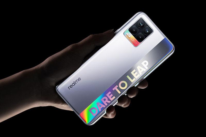 Realme 8 sở hữu thiết kế đẹp mắt vô cùng thu hút