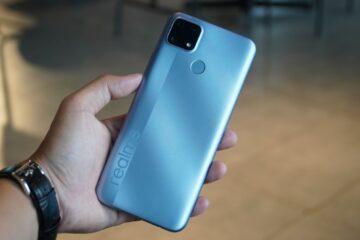 Realme C25 nổi bật với cấu hình chơi game, bộ 3 camera sau, pin khủng