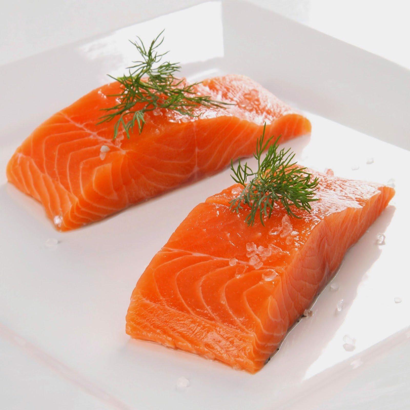 Cá hồi giàu omega 3