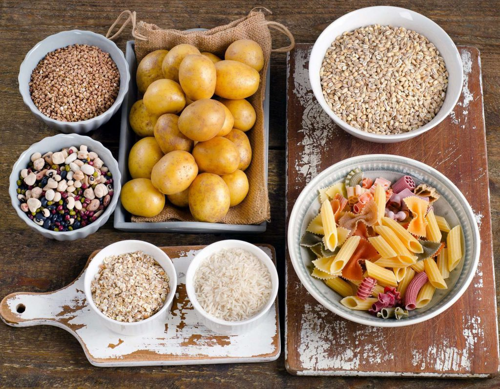 Ăn các loại thực phẩm giàu chất tinh bột (bột đường)