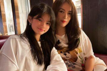 Trương Ngọc Ánh cùng con gái