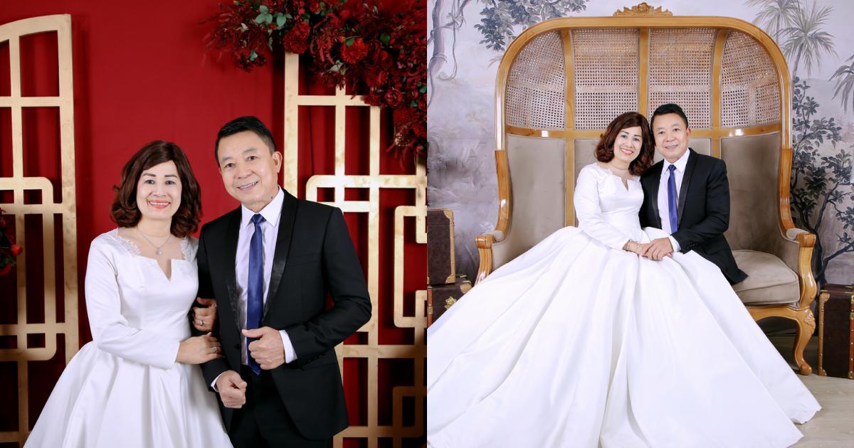 gia đình hạnh phúc của bố mẹ ca sỹ Đăng Khôi